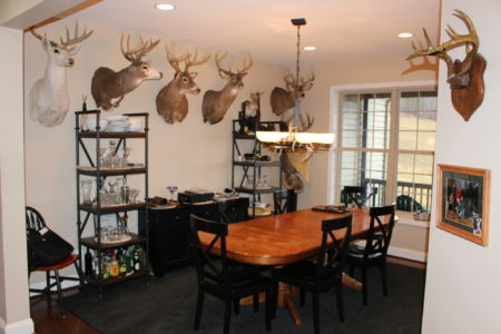 Hunting Cabin Kitchen Table